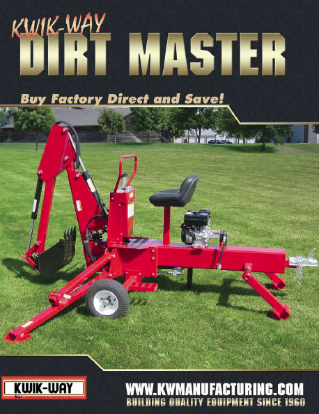 dirt master otwable backhoe